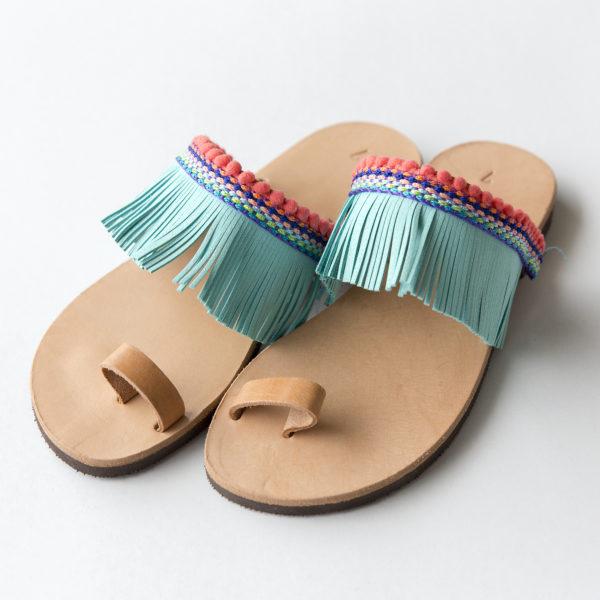 cc793e3be70 Χειροποίητα δερμάτινα σανδάλια boho style. – Bibiaz Accessories & more